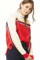 Forever21 Colorblock Knit Sweater