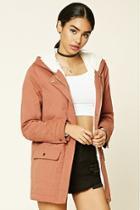 Forever21 Women's  Hooded Parka Jacket