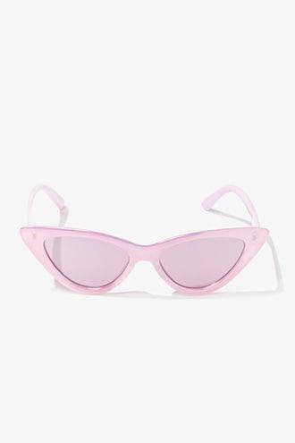 Forever21 Premium Metallic Cat-eye Sunglasses