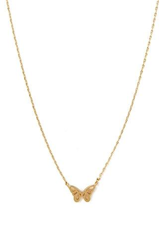 Forever21 Butterfly Charm Necklace