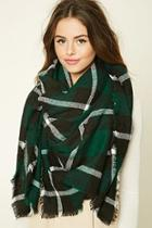 Forever21 Plaid Oblong Scarf