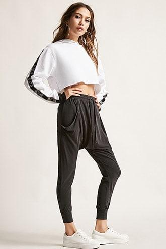 Forever21 Drop-crotch Joggers