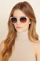 Forever21 Etched Square Sunglasses