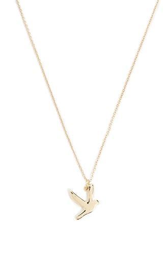 Forever21 Bird Pendant Necklace