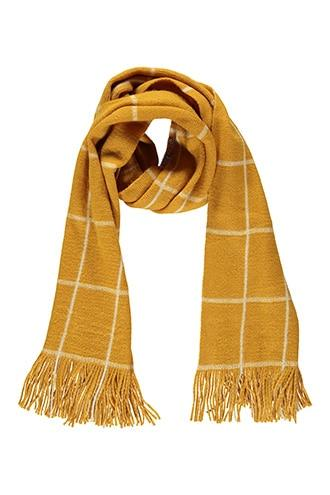 Forever21 Grid Brush Knit Scarf