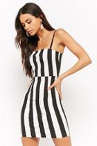 Forever21 Striped Bodycon Mini Dress