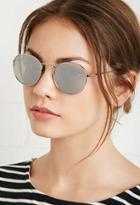 Forever21 Mirrored Round Sunglasses
