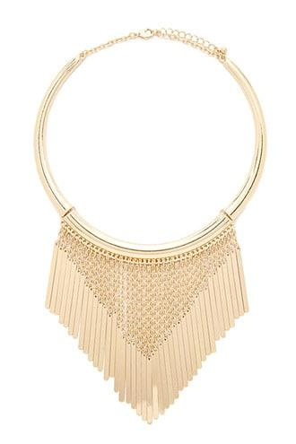 Forever21 Collar Chain Statement Necklace