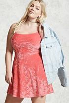 Forever21 Plus Size Crushed Velvet Dress