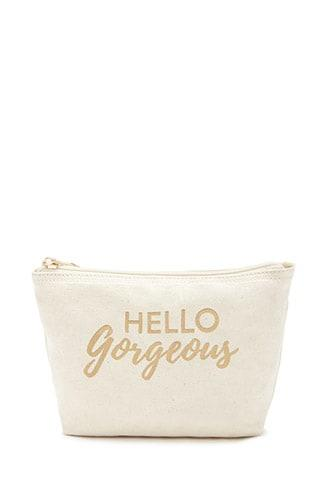 Forever21 Hello Gorgeous Makeup Bag