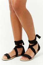 Forever21 Strappy Wraparound Sandals