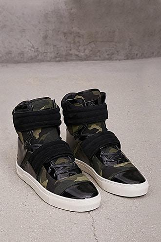 Forever21 Radii Camo High-top Sneakers