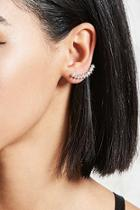 Forever21 Rhinestone Pin Earrings