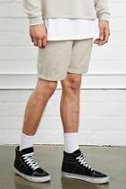 21 Men Men's  Clean Wash Denim Shorts