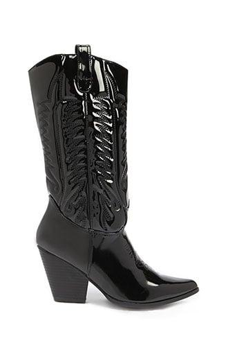 Forever21 Western Mid-calf Boots