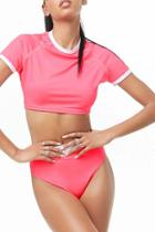 Forever21 Colorblock Top & Panty Set
