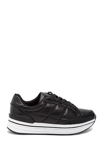 Forever21 Qupid Platform Sneakers