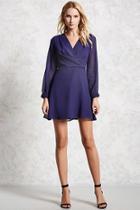 Forever21 Surplice Chiffon Dress