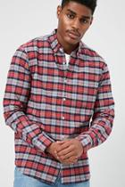 Forever21 Plaid Fitted Shirt