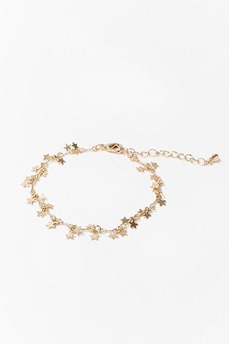Forever21 Star Charms Bracelet
