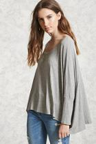 Forever21 Ribbed Dolman Top