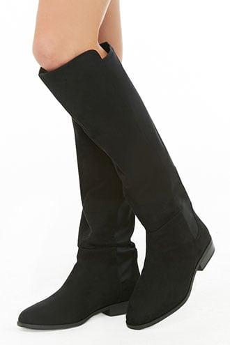 Forever21 Knee-high Combo Boots