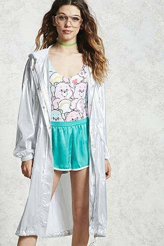 Forever21 Contemporary Holographic Jacket
