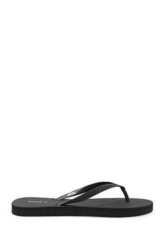 Forever21 Textured Thong Sandals