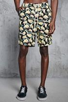 Forever21 Banana Print Shorts
