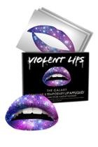 Forever21 Violent Lips Galaxy Print Lips