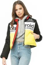 Forever21 Polaroid Colorblock Jacket