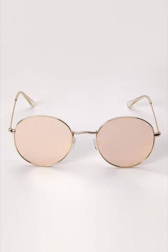 Forever21 Round Flat Lens Sunglasses  Rocco