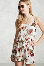 Forever21 Floral Cami Romper