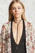 Forever21 Layered Choker Necklace