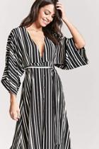 Forever21 Plunging Stripe Dress