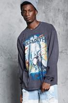 Forever21 Megadeth Distressed Tee