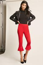 Forever21 Cropped Flare Pants