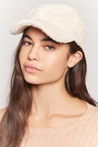 Forever21 Faux Shearling Dad Cap