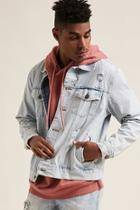 Forever21 Waimea Distressed Denim Jacket