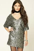 Love21 Women's  Contemporary Sequin Mini Dress