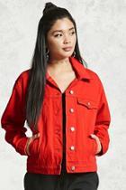 Forever21 Snap Button Denim Jacket