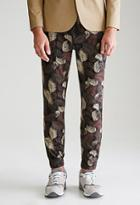 Forever21 Palm Camo Chino Joggers