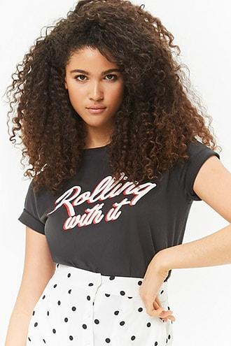 Forever21 Rolling With It Graphic Tee