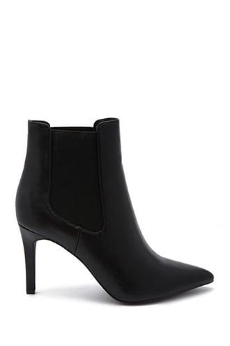Forever21 Pointed Toe Ankle Booties