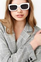Forever21 Rectangle Plastic Sunglasses