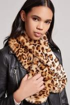 Forever21 Leopard Print Wrap Scarf