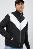 Forever21 Chevron Colorblock Jacket