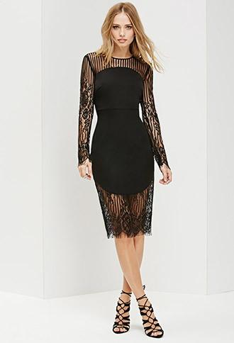 Forever21 Ministry Of Style Bleaker Lace Dress