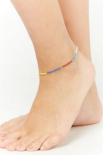 Forever21 Layered Beaded Anklet