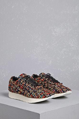 Forever21 Colorful Chevron Sneakers